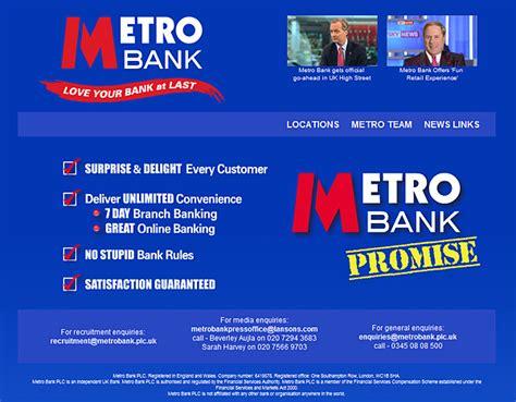 metro bank uk metro bank opens on 29th july money
