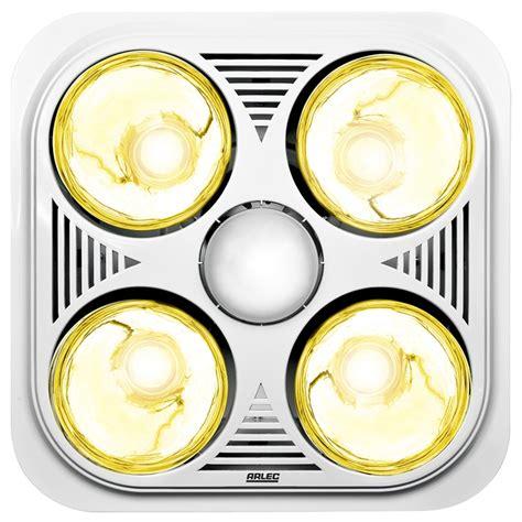 3 in 1 heater lights bathroom heater bathroom 3 in 1 arlec light and exhaust e550 i n