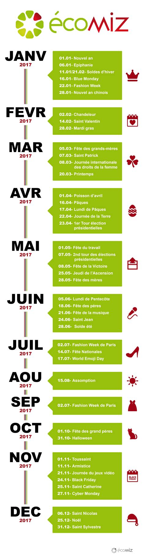 Calendrier En Ligne 2017 Ecomiz Agence Web 224 Calendrier Ecommerce 2017