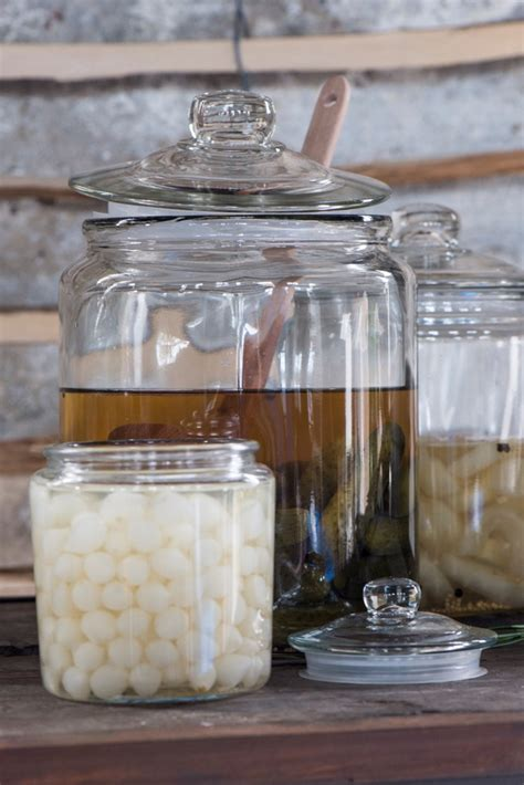 decorative glass jars for kitchen large decorative glass jar with lid for cookie sweet kitchen storage wedding ib laursen