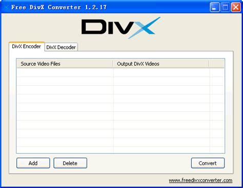div x free divx converter screenshot x 64 bit