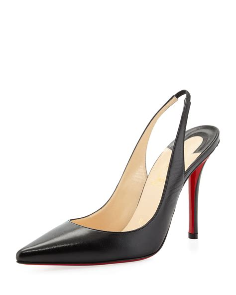 slingback sneakers christian louboutin apostrophe sole slingback in