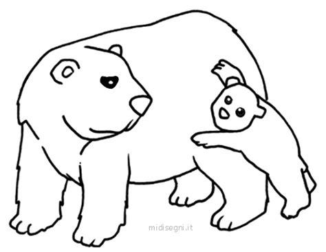 orsi cornici disegni da colorare per bambini midisegni it