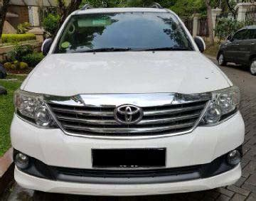 Toyota Fortuner Tahun 2012 dijual toyota fortuner tahun 2012 mobilbekas