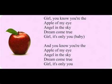apple of my eye song micah g apple of my eye lyrics youtube