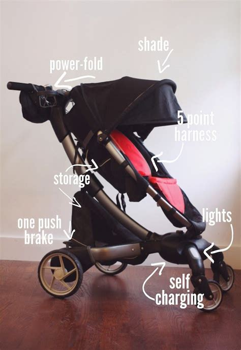 4moms Origami Pram - 4moms origami stroller charges your cell phone and