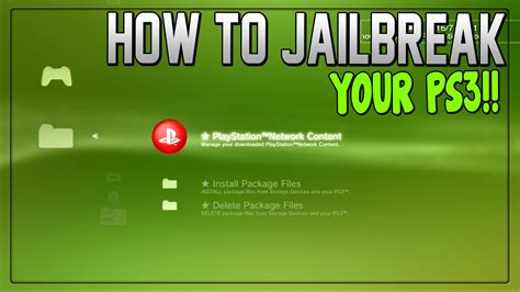 how to downgrade a ps3 with a usb ps3 jailbreak 4 81 cfw free ps3 jailbreak 4 81 cfw