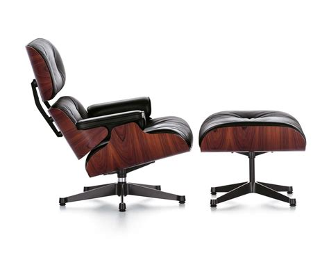 Vitra Lounge Chair Ottoman By Charles Ray Eames 1956 Vitra Eames Lounge Chair And Ottoman