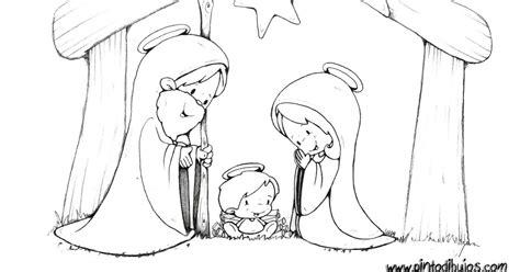 dibujos navideños para colorear portal belen pinto dibujos portal de bel 233 n para colorear