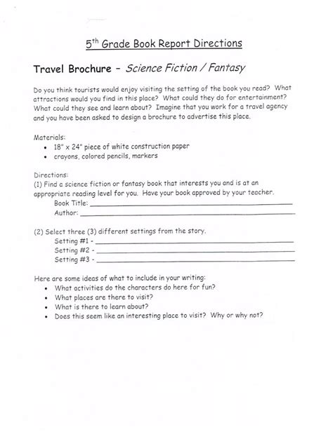 book reports 5th grade gombert fifth grade book reports book studies