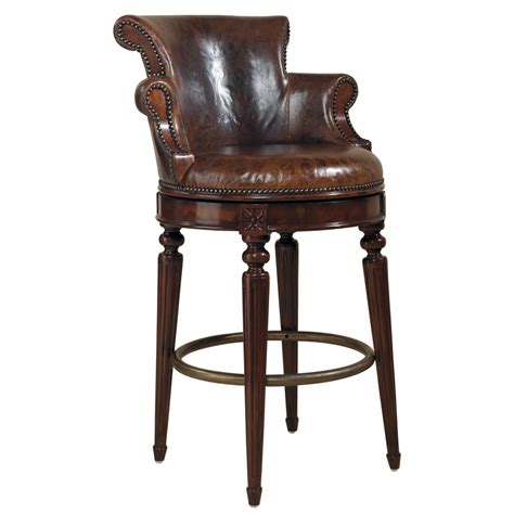 Leather Swivel Counter Stools by Furniture The Best Beautiful Leather Swivel Bar Stool With