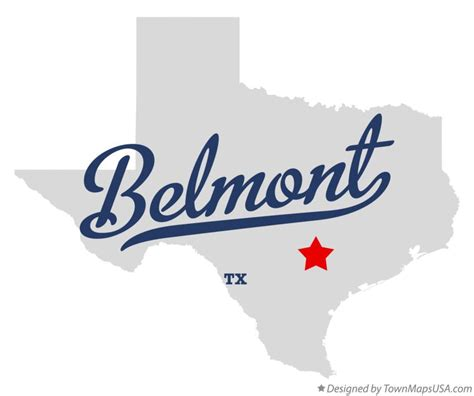 belmont texas map belmont texas map my