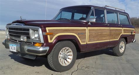 jeep wagoneer 1987 original jeep grand wagoneer waggy a