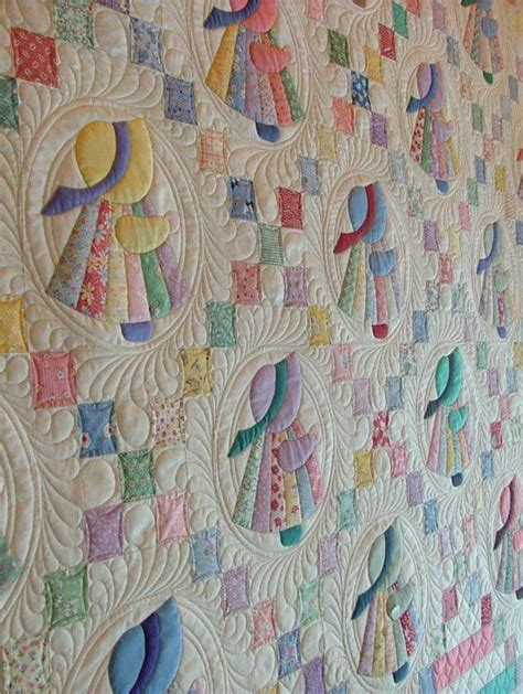Sue Bonnet Quilt by Sun Bonnet Sue Dresden Dress Quilting