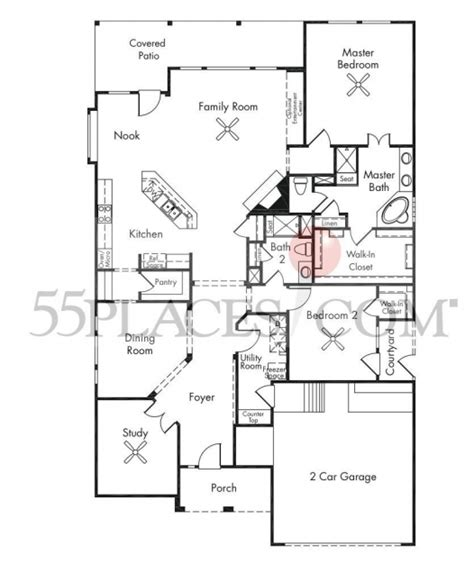 country home open floor plans house floor plans