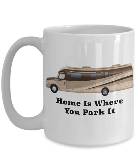 home is where you park it rv coffee cup happy cer mug