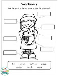 thanksgiving craftivity amp language worksheets speech