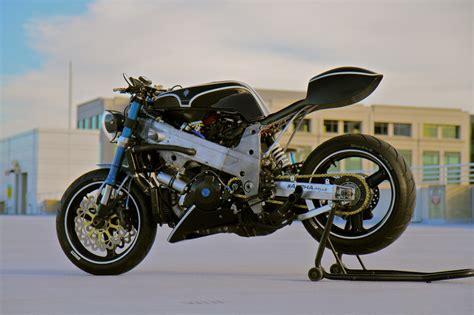Suzuki Racer Suzuki Tl1000r Cafe Fighter By Magnum Opus Bikebound