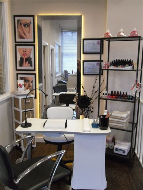 nail station salon design on a dime nail