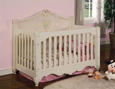 Beige Crib by Light Beige Finish Modern Baby Crib