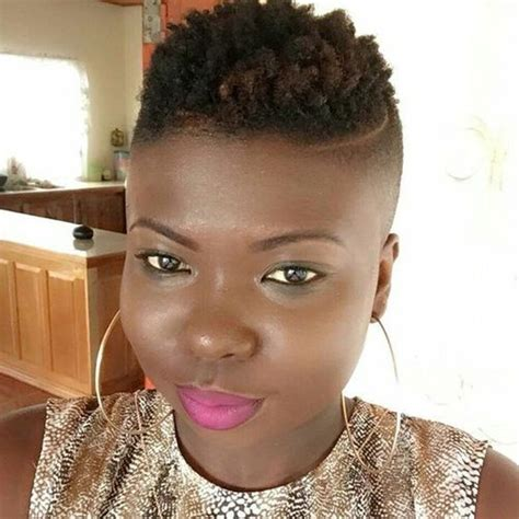 fade haircut for black women 40 mohawk hairstyle ideas for black women
