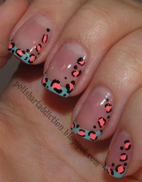 easy nail art cheetah 15 cheetah or leopard nail designs