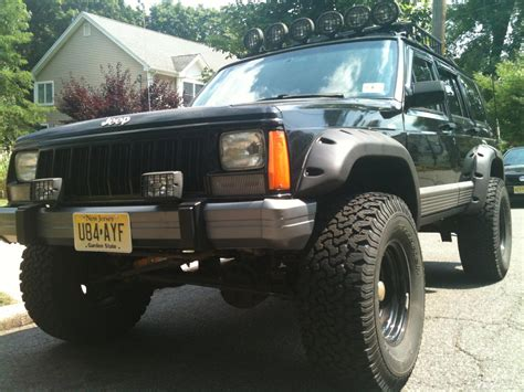 jeep cherokee tires 1995 fs nj jeep cherokee 4x4 lifted and 33 inch tires