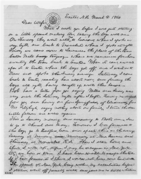 abraham lincoln letter to the application letter to principal of college fresh essays