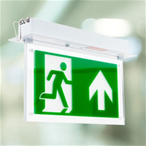 Hanelle Exit led exit sign razor emergency lighting