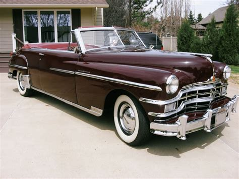 1953 Chrysler New Yorker For Sale by 1953 Chrysler New Yorker Convertible For Sale