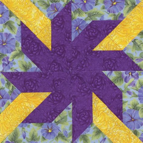 Quilt Block Patterns by Spinning Quilt Block Pattern