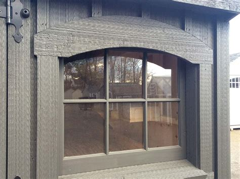 arch shed arch window trim amish mike amish sheds amish barns