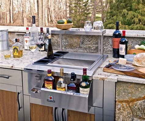 outdoor kitchen with sink bbq island outdoor kitchen reveal our housetory inside