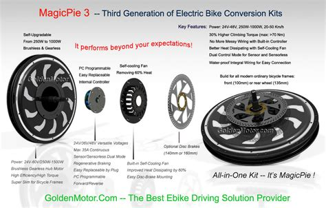 E Bike 24v Vs 36v by Bike Conversion Kits Hub Motor Regenerative Braking
