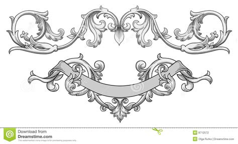 ornate banner vector stock photography image 8712572