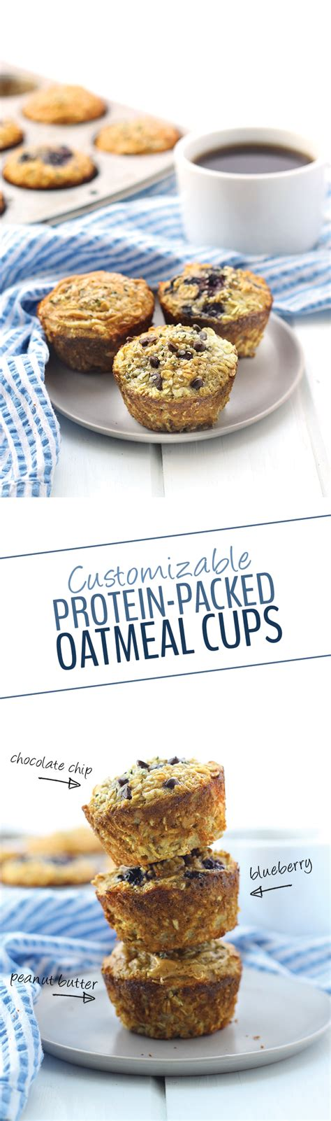 protein 1 cup oatmeal customizable protein packed oatmeal cups the healthy