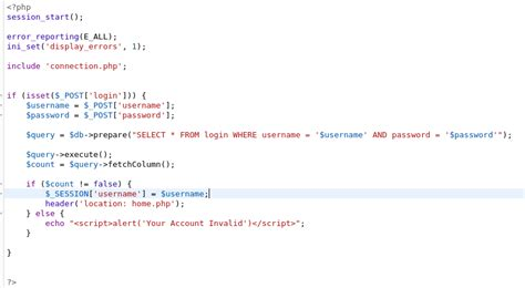 membuat login dengan php menggunakan session membuat login session menggunakan php pdo erma tiana
