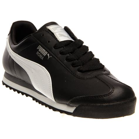 Roma Black roma black and retro running shoes and free shipping