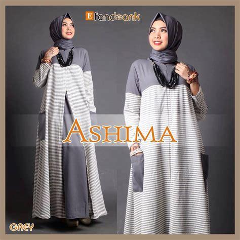 Busana Muslim Stripe Zahra busana muslim cantik pesta 2016 pusat grosir baju muslim