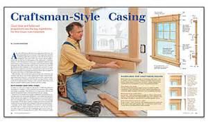 Charming Wwwfinehomebuildingcom 2 Craftsman window trim