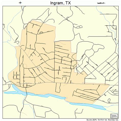 ingram texas map ingram texas map 4836032