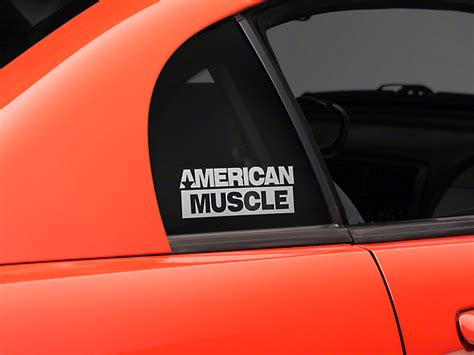 mustang back window decals mustang americanmuscle quarter window decal frosted 94