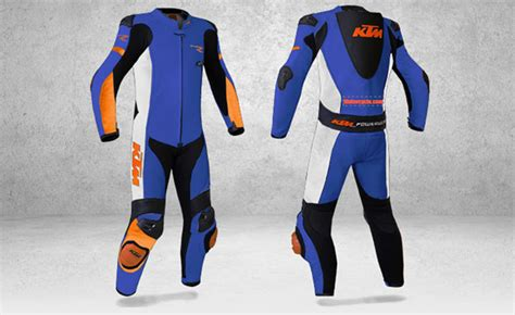 Ktm Race Wear Ktm Offers Custom Leather Racing Suits From Gimoto