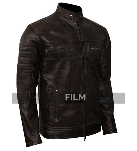 Motorrad Lederjacke Cafe Racer by Cafe Racer Vintage Dark Brown Motorcycle Leather Jacket