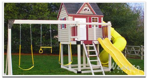 playhouse swing set combo weaver swing sets lapp family market