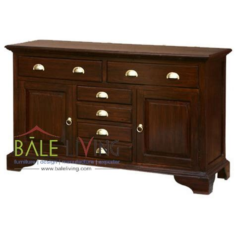 teak buffet tv cabinet buffettv 050 indonesia teak