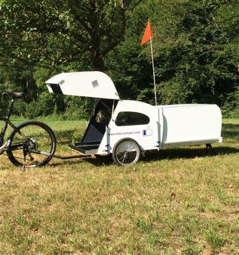 Camper Trailer Kitchen Designs Bike Camper With Extendable Rear Pod Living In A Shoebox