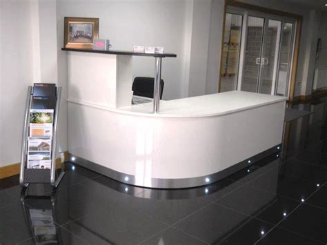 white curved reception desk 17 best images about reception desks reception counters