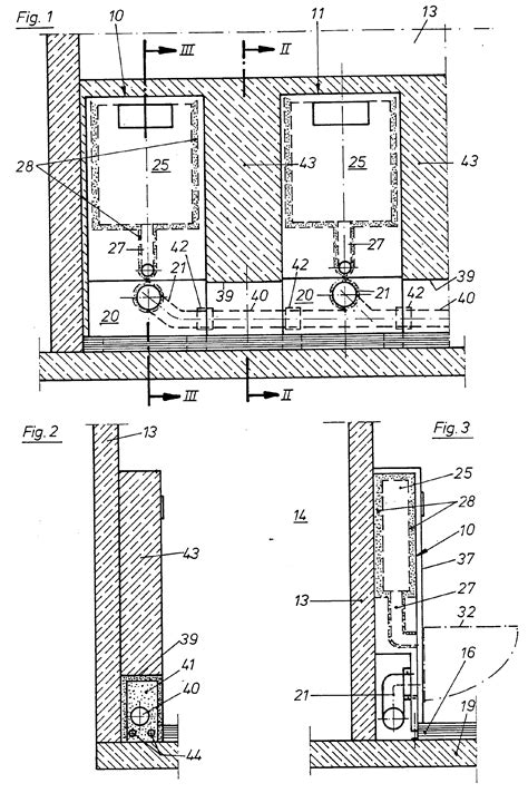 bidet wc abstand patent ep0480296b1 installationseinrichtung patents