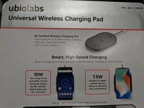 ubio labs qi wireless charging pad